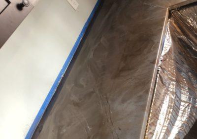 Custom Shaped Concrete Countertops