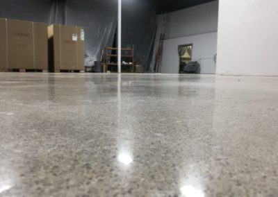 Newly Cleaned & Sealed Concrete Floors