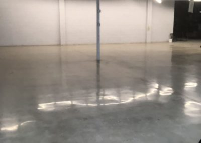Epoxy Finished Concrete Flooring