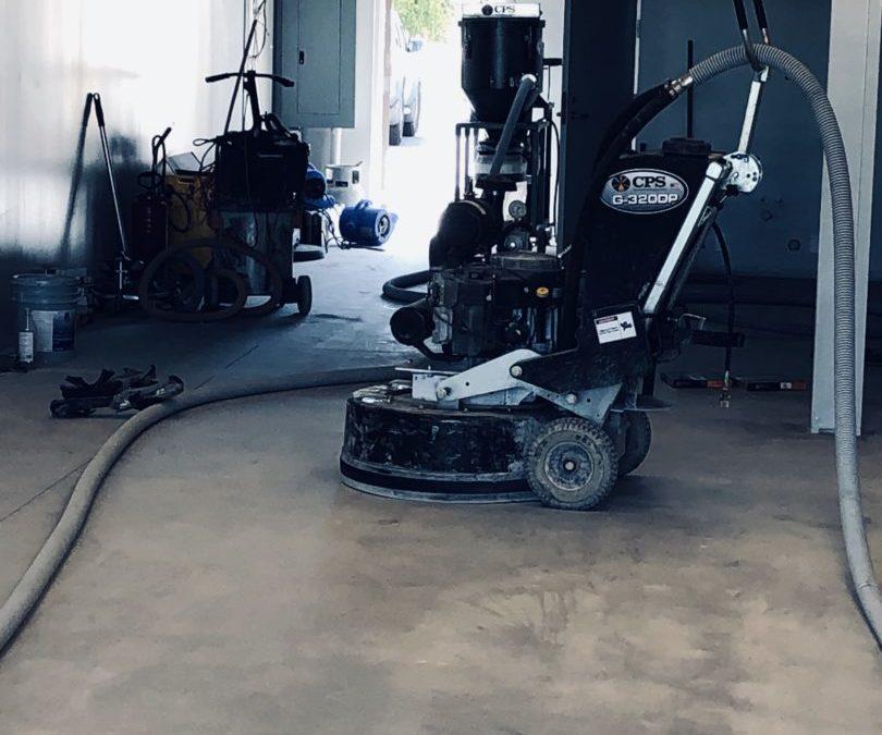 Complete Concrete Floor Preparation