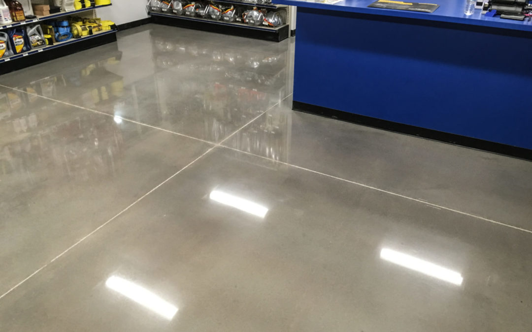 The Benefits of Concrete Flooring in Utah
