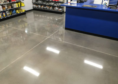 Retail Store Concrete Floor