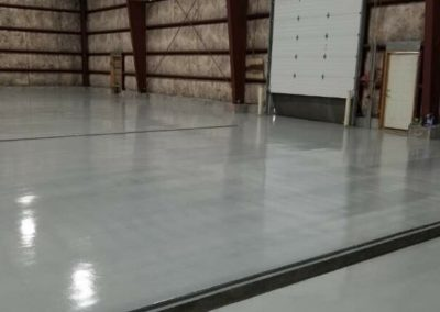 Coated & Sealed Concrete Floor